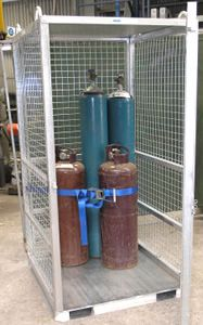 Picture of Gas Bottle Storage Cage (Assembled)